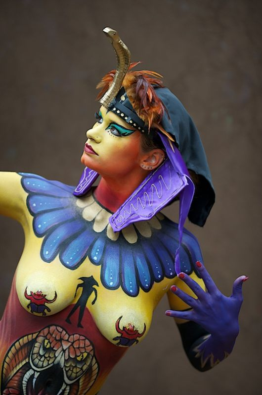 Man Body Painting Gallery
