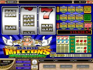 Double win slots game