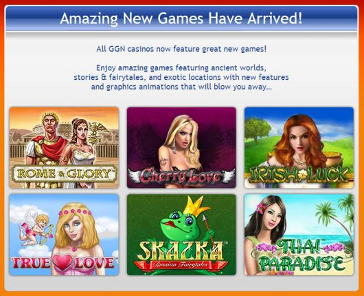 Online casino sites list